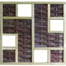 LABO-3D Weidengeflechtzaun, 180 x 180 cm