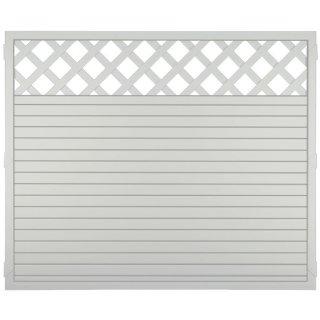 LIGHTLINE KS-Zaun Ranki, weiß, 180 x 150 cm