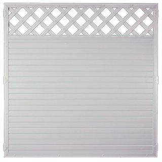 LIGHTLINE KS-Zaun Ranki, weiß, 180 x 180 cm
