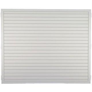 LIGHTLINE KS-Zaunelement, weiß 180 x 150 cm