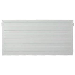 LIGHTLINE KS-Zaunelement, weiß 180 x 90 cm