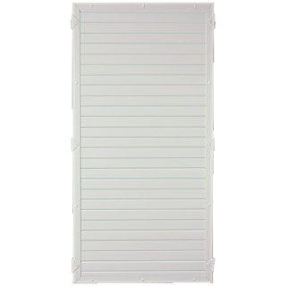 LIGHTLINE KS-Zaunelement, weiß 90 x 180 cm