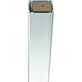 DALIAN-/ JINAN Serie Pfosten Silber